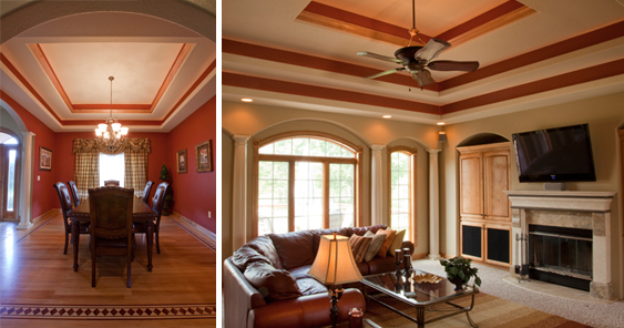 Kamrow Contractors services include painting and woodworking